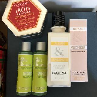 ロクシタン(L'OCCITANE)のロクシタン福袋♡まとめ買い 香水、クレンジング、ボディミルクなど(ボディローション/ミルク)