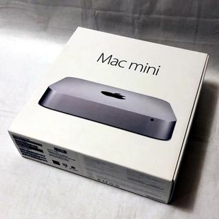 アップル(Apple)の Mac mini Late2014 2.8GHz 8GB 1TB Fusion(デスクトップ型PC)