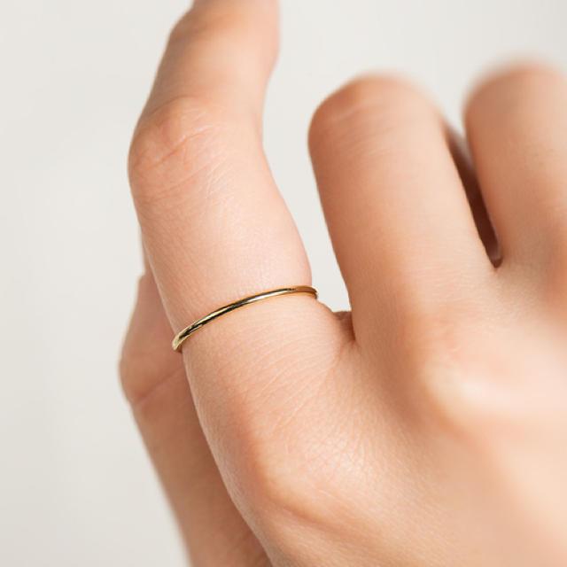 AURORA GRAN(オーロラグラン)のAURORA GRAN プレーンリングM レディースのアクセサリー(リング(指輪))の商品写真