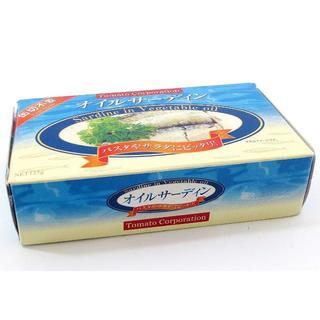 トマトコーポレーション オイルサーディン (イワシ缶) 125g×40個(缶詰/瓶詰)