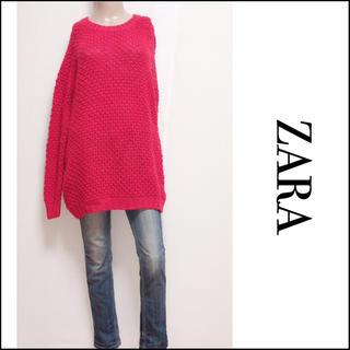 ザラ(ZARA)のZARA ゆるだぼっ ニット オーバーサイズ♡H&M マウジー SLY(ニット/セーター)
