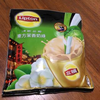 ユニリーバ(Unilever)の台湾茶「立頓」リプトン 東方茉香奶緑  東方焙香鳥龍奶茶 台湾限定(茶)