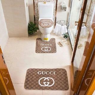 グッチ(Gucci)の新しい! 未使用の家庭用バスルームマットセット(バスマット)