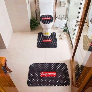 シュプリーム(Supreme)の新しい! 未使用の家庭用バスルームマットセット(バスマット)