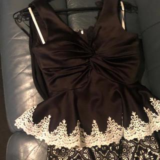 アン(an)のキャバドレス ブラック(ナイトドレス)