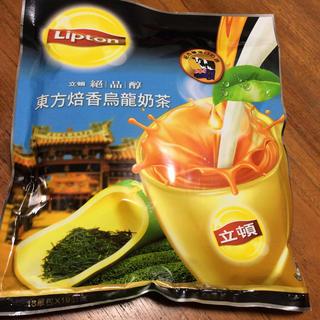 ユニリーバ(Unilever)の台湾茶「立頓」リプトン 東方焙香鳥龍奶茶 台湾限定(茶)