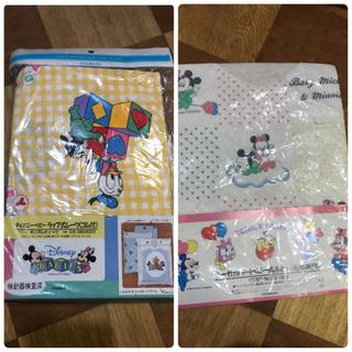 ディズニー(Disney)の新品 ミッキー ミニー ガーゼカバー(ベビー肌ふとん・毛布兼用)(シーツ/カバー)