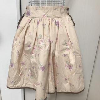 リズリサ(LIZ LISA)のリズリサ マーガレット柄スカート(ミニスカート)
