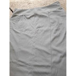 アストリアオディール(ASTORIA ODIER)の【新品未使用】膝丈タイトスカート(水色)(ひざ丈スカート)