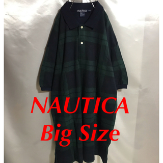 ノーティカ(NAUTICA)の90sヴィンテージ NAUTICA ポロシャツ プルオーバー ビッグポロ(ポロシャツ)