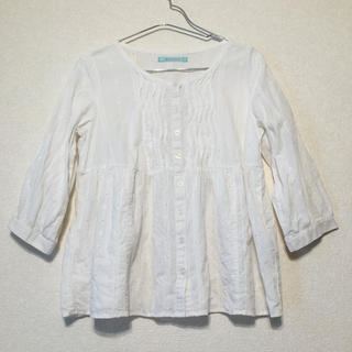 ナチュラルクチュール(natural couture)の美品✰7分袖✰natural couture✰ナチュラルクチュール✰ブラウス✰ (シャツ/ブラウス(長袖/七分))