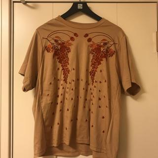 マメ(mame)のmame kurogouchi Botanical EmbroideryTシャツ(Tシャツ(半袖/袖なし))