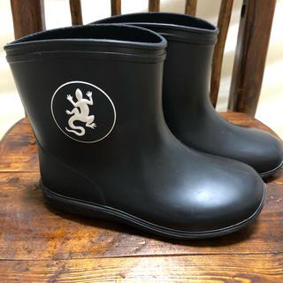 アニエスベー(agnes b.)のアニエス・ベー レインブーツ 黒 15㎝(長靴/レインシューズ)