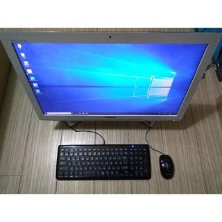 トウシバ(東芝)の中古 東芝 D732/T7FW Core i7-3610QM テレビ Win10(デスクトップ型PC)