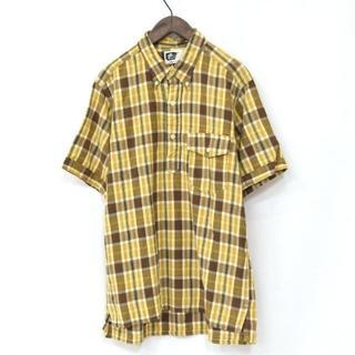 エンジニアードガーメンツ(Engineered Garments)の別注 希少 エンジニアードガーメンツ POPOVER シャツ 茶 L(シャツ)