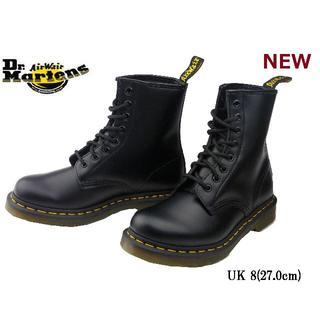 ドクターマーチン(Dr.Martens)の【ドクターマーチン】1460 UK8 8ホール ブーツ 黒 くろ(ブーツ)