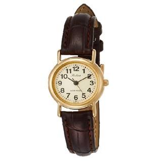 シチズン(CITIZEN)の♫とってもオシャレ♫CITIZEN 腕時計 アナログ 革ベルト ゴールド(腕時計)