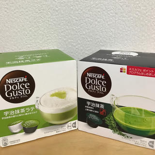 Nestle - ドルチェグスト カプセル【宇治抹茶&宇治抹茶ラテ】各1箱