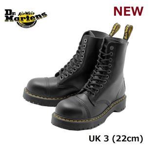 ドクターマーチン(Dr.Martens)の【ドクターマーチン】8761 UK3 BXB 10ホール スチールトゥ 黒 くろ(ブーツ)