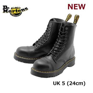 ドクターマーチン(Dr.Martens)の【ドクターマーチン】8761 UK5 BXB 10ホール スチールトゥ 黒 くろ(ブーツ)