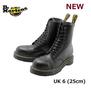 ドクターマーチン(Dr.Martens)の【ドクターマーチン】8761 UK6 BXB 10ホール スチールトゥ 黒 くろ(ブーツ)