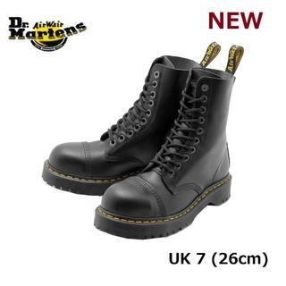 ドクターマーチン(Dr.Martens)の【ドクターマーチン】8761 UK7 BXB 10ホール スチールトゥ 黒 くろ(ブーツ)