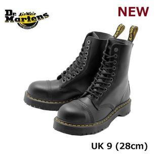 ドクターマーチン(Dr.Martens)の【ドクターマーチン】8761 UK9 BXB 10ホール スチールトゥ 黒 くろ(ブーツ)