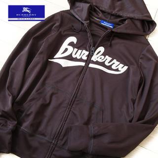 バーバリーブルーレーベル(BURBERRY BLUE LABEL)の美品 38サイズ バーバリーブルーレーベル パーカージャケット ブラウン(パーカー)