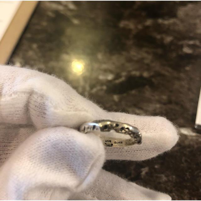 JAM(ジャム)のジャムホームメイド JAMHOMEMADE ジャム リング 指輪 シルバー メンズのアクセサリー(リング(指輪))の商品写真