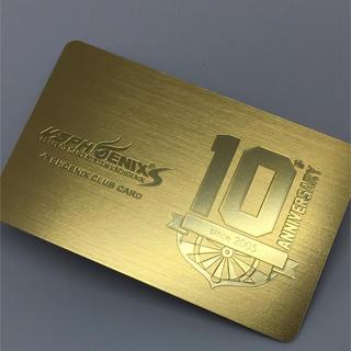 フェニックスカード 10周年記念限定カード(ダーツ)