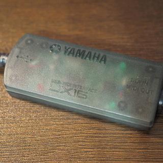 【値下げ!】USB-MIDI I/F YAMAHAUX16(その他)