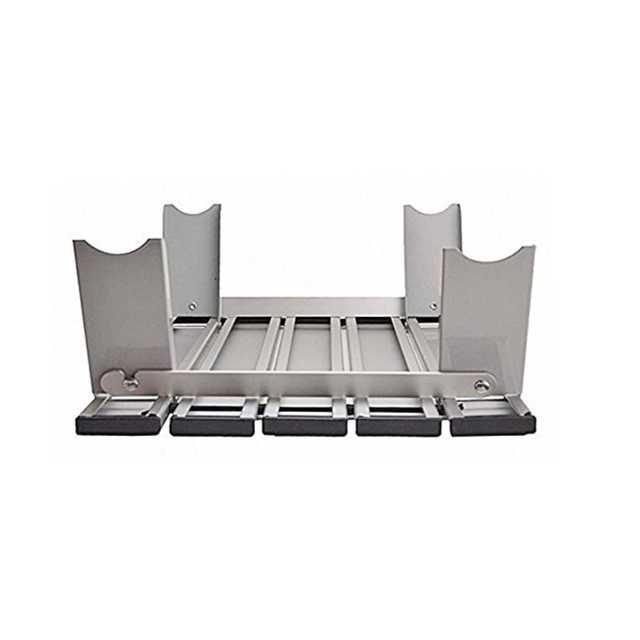 アウトドア用折り畳みアルミテーブル インテリア/住まい/日用品の机/テーブル(アウトドアテーブル)の商品写真