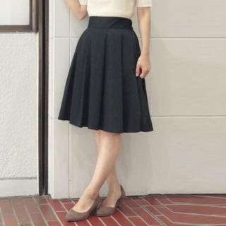 アストリアオディール(ASTORIA ODIER)のスカート、ネイビー(ひざ丈スカート)
