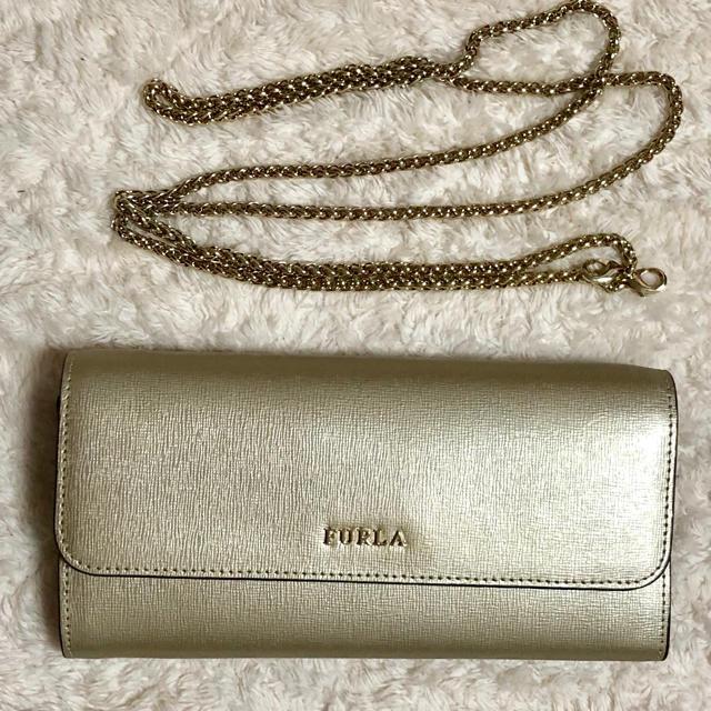 ca53b5374174 Furla(フルラ)のフルラ FURLA BABYLON バビロン チェーン長財布 ポシェット レディースのファッション