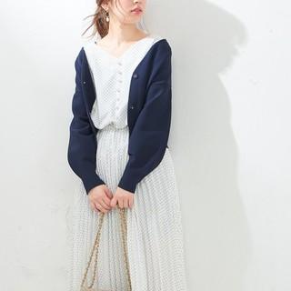 ナチュラルクチュール(natural couture)のニットジャケットカーデ natural couture ナチュラルクチュール(カーディガン)
