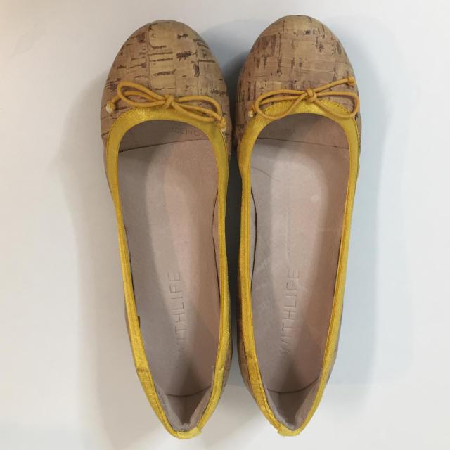 CHAPTER SELECT(チャプターセレクト)の【未使用】バレエシューズ 22.5cm レディースの靴/シューズ(バレエシューズ)の商品写真