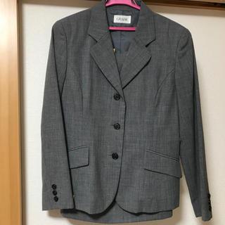 シマムラ(しまむら)のいちご様専用です。スーツ グレー レディース 11号(スーツ)