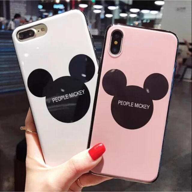 iphone7plus ケース iphone6plus | 新品 iPhoneケース ミッキー シルエット 7 8 X XS 対応の通販 by peach.Jr's shop|ラクマ