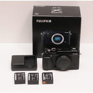 フジフイルム(富士フイルム)のFUJIFILM X-E2 ブラック シャッター数150回程度 ほぼ新品(ミラーレス一眼)