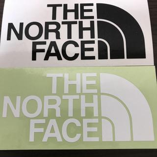 ザノースフェイス(THE NORTH FACE)の【縦7cm横14cm】THE NORTH FACEステッカー 二枚セット(ステッカー)