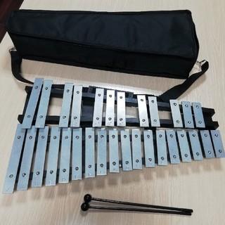 Enhong 折り畳み 卓上 鉄琴 30音(鉄琴)