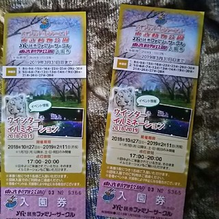 東武動物公園 入園券(動物園)