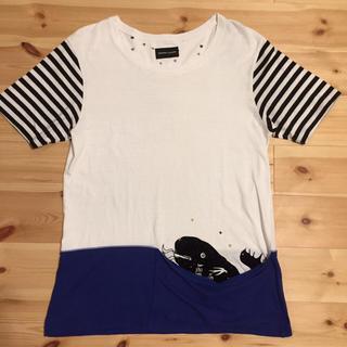 ツモリチサト(TSUMORI CHISATO)のサイズ2 ツモリチサト クジラTシャツ(Tシャツ(半袖/袖なし))