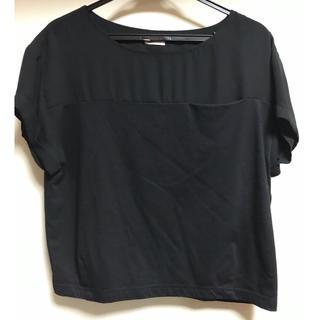 ノンブルアンベール(nombre impair)のブラック シャツ ノンブル アンベール(Tシャツ(半袖/袖なし))