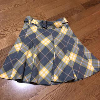 バーバリーブルーレーベル(BURBERRY BLUE LABEL)のバーバリー ブルーレーベル スカート 美品(ミニスカート)