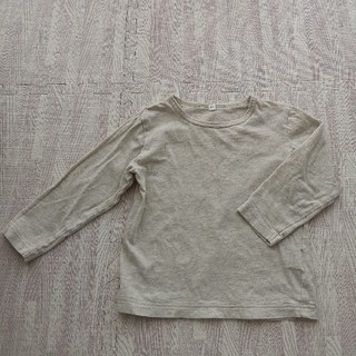 ムジルシリョウヒン(MUJI (無印良品))の[無印良品]ナチュラル長袖カットソー サイズ100(Tシャツ/カットソー)