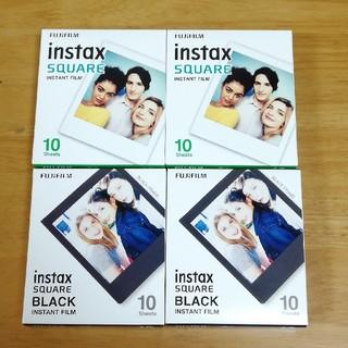 フジフイルム(富士フイルム)のinstax square film チェキ スクエア フィルム セット 40枚(フィルムカメラ)