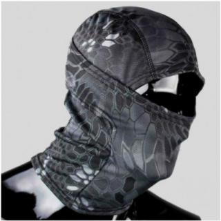 再入荷。新品!3Way フェイスマスク サイズFree 迷彩(個人装備)