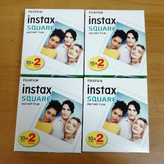 フジフイルム(富士フイルム)のinstax square film チェキ スクエア フィルム 80枚(フィルムカメラ)