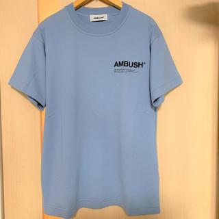 アンブッシュ(AMBUSH)のAMBUSH Tシャツ ブルー(Tシャツ/カットソー(半袖/袖なし))